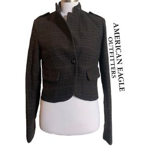 American Eagle Outfitters Military Blazer